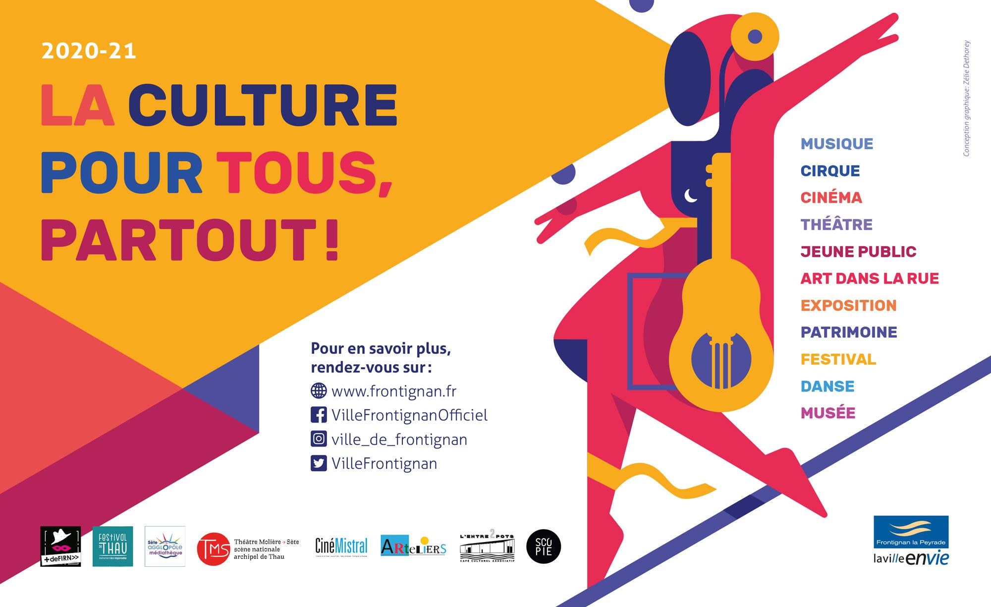 Musique, cirque, cinéma, exposition, patrimoine, arts de la rue, danse, musée