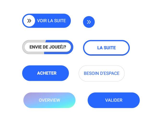 Animation de boutons